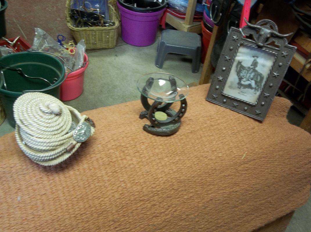 Misc tack white horse trading post for Unique home decor items